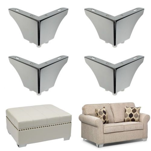 4pcs Sofa Legs Furniture Replace Feet Couch Chair Bench Cabinet