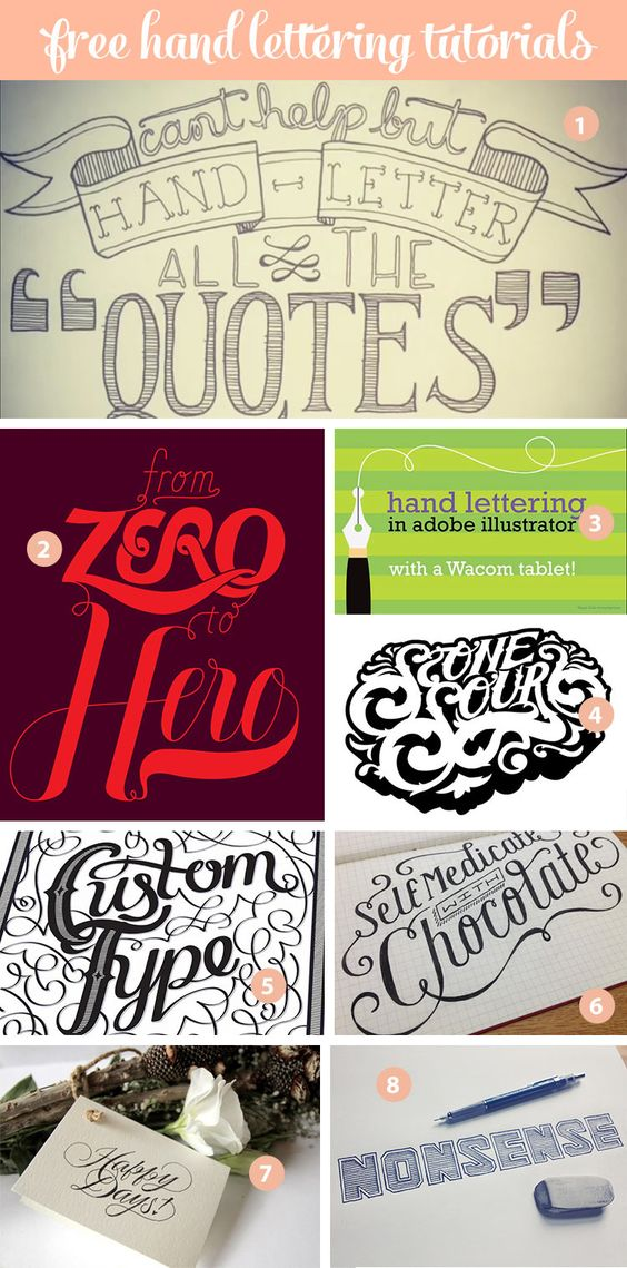 hand lettering tutorial 24 awesome lettering tutorials creative awesome 22076 | b848bc7fc451af9ce52337949de41d43
