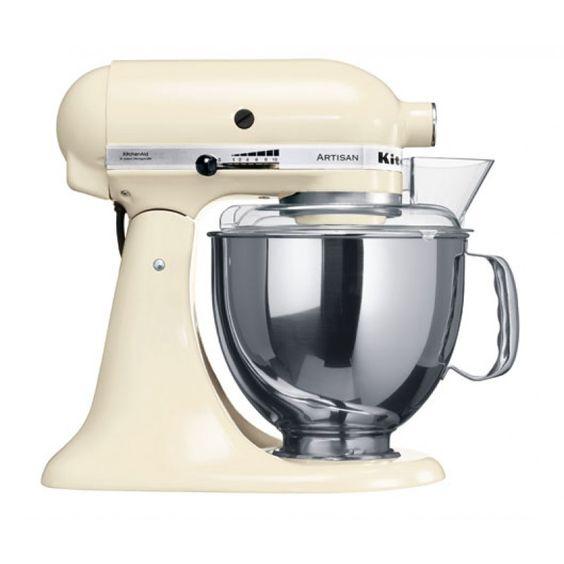 KitchenAid Artisan Küchenmaschine creme/mandel
