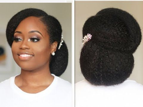The Best Natural Hair Updos For Weddings Are Here With These Simple Tutorials On How To Style Natural Wedding Hairstyles Natural Hair Bride Natural Hair Styles