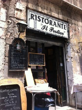 Restaurante El Pórtico. Pórtico d´Ottavia