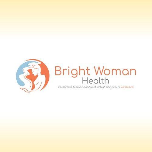 Bright Woman Health Craft A Stunning Logo For An Online Women S Health Business Online Women S Health Educ Health Business Health Education Online Education
