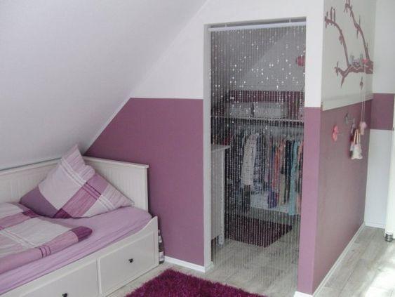 Offener Kleiderschrank In Kleinem Zimmer ~   und nun hat Melina einen begehbaren Kleiderschrank im Zimmer