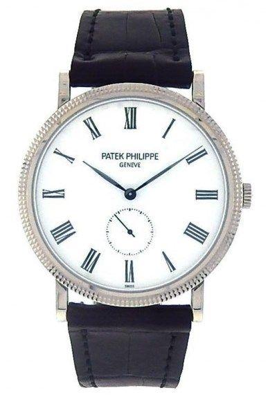 Patek Philippe Calatrava 5119G 18k White Gold Watch