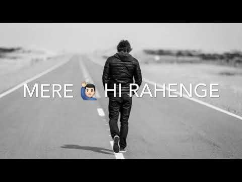 Tere Hi The Tere Hi Hai Tere Hi Rahenge Heart Touching Shayari By Faiz Zaidi Youtub Cute Love Songs Best Relationship Advice Whatsapp Status Quotes