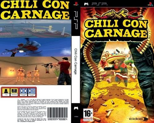 Chili Con Carnage PSP - PSP Top Games