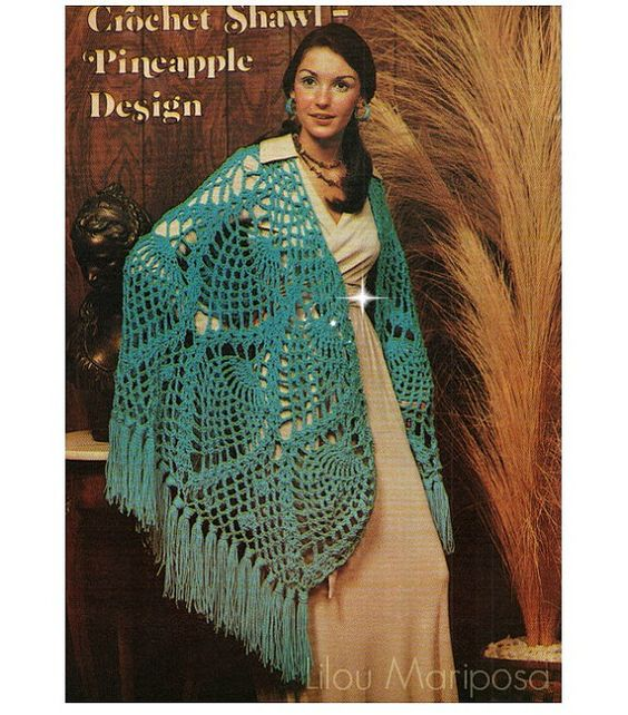 Vintage Crochet : more crochet vintage crochet patterns shawl vintage etsy crochet shawl ...