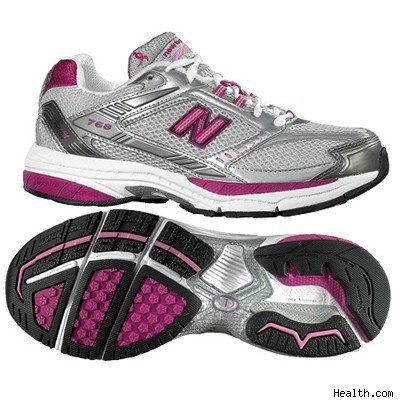 I'm liking these New Balance running shoes: good color scheme (I like gray and pink) and NB is generally good for my wide feet. Probably should go try them on in person.