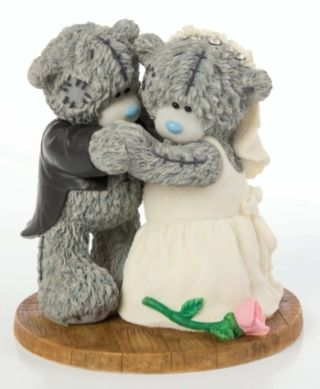 me to you tatty teddy wedding cake topper decoration pin by mello laughman on tatty bears and more 17274