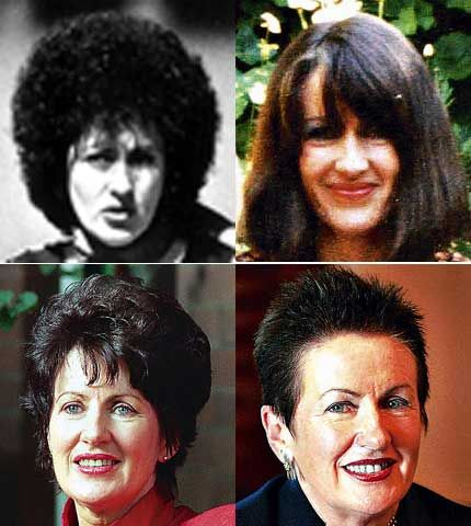 Hairstyles past
