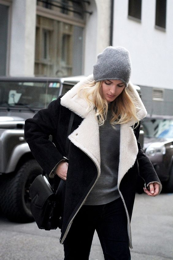 Warme lammy coat