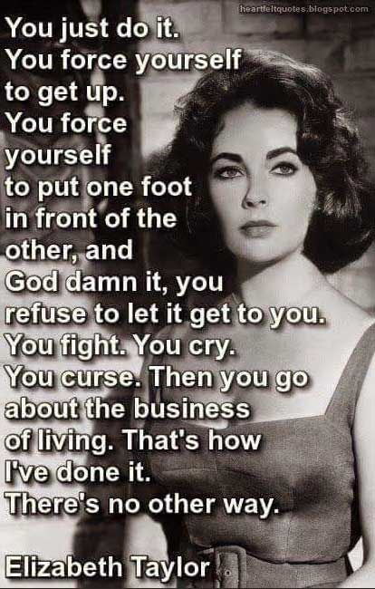 Elizabeth Taylor lays the life quote smackdown!
