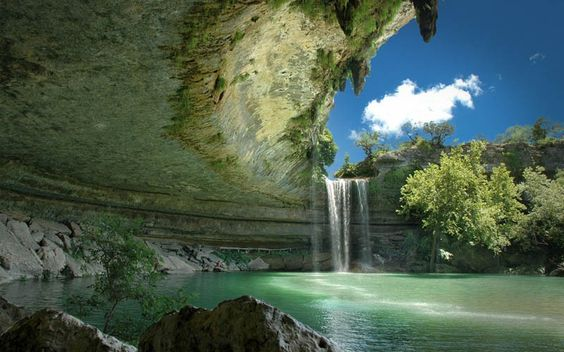 THE INCREDIBLE HAMILTON POOL NATURE PRESERVE  Photograph by DAVE WILSON PHOTOGRAPHY