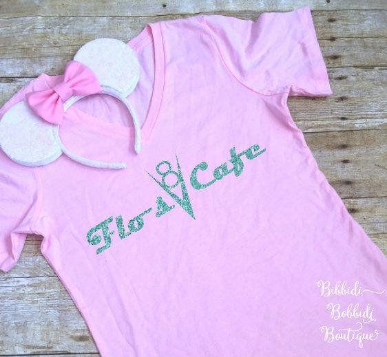 Flo S V8 Cafe Shirt The Perfect Disney Cars Shirt Or Disney