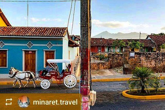 #Follow @minaret.travel: Evening on the outskirts of #Granada #Nicaragua #ILoveGranada #AmoGranada #Travel #CentralAmerica #GranadaNicaragua