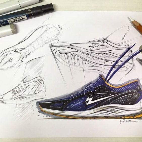 Ideation. #vscocam #vscogrid #vsco #footweardesign #footwearforum #productdesign #industrialdesign #running #sketch #design #thumbnails #hypebeast #sneakerfreaker #instakicks #conceptkicks #black #navy #shoeporn #indonesian #designers #fashion #sneaker #lifestyle #idsketch