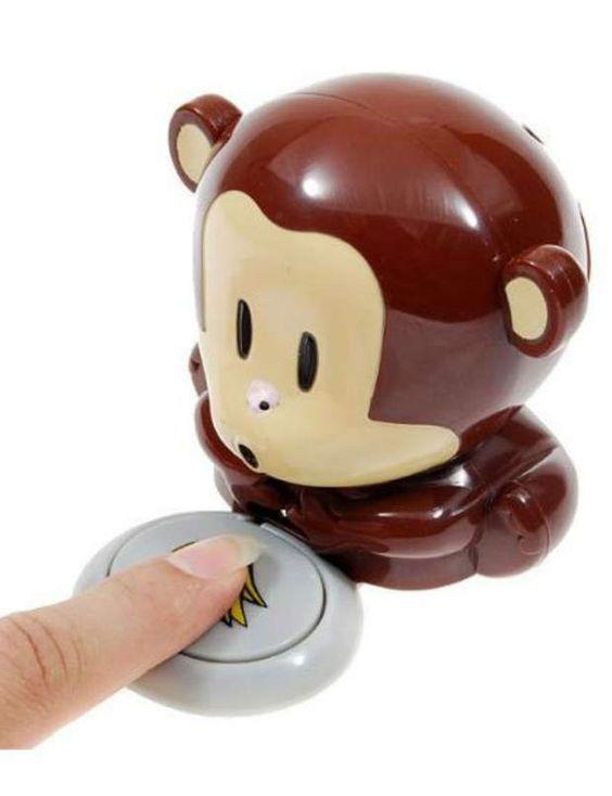 Séchage expressEconomisez votre souffle! Ce mignon petit singe souffle de l'air froid, pour accélerer le séchage de votre vernis à votre place.Singe Sèche Ongles, Megagadgets, 3,37€ sur Amazon.fr
