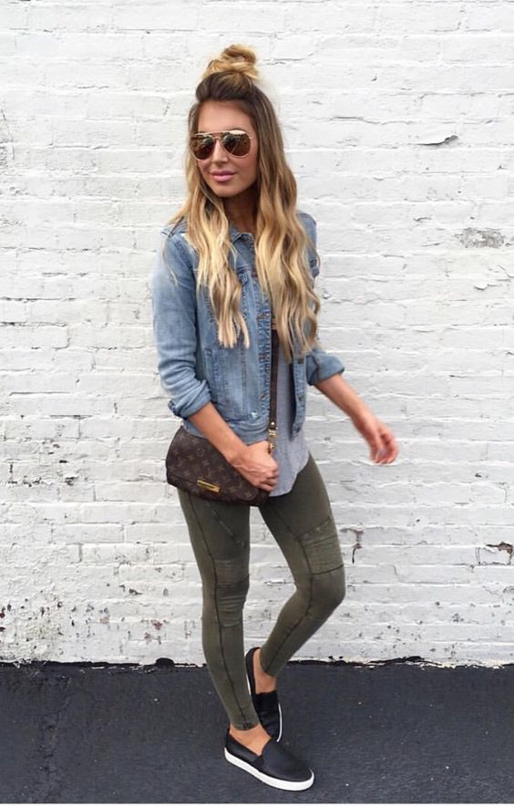 I like this color for jeans, but not the fit. These are way too skin tight