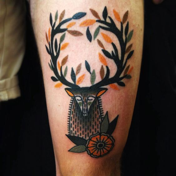 #tattoofriday - 'Bold Traditional Tattoos' by Matt Cooley