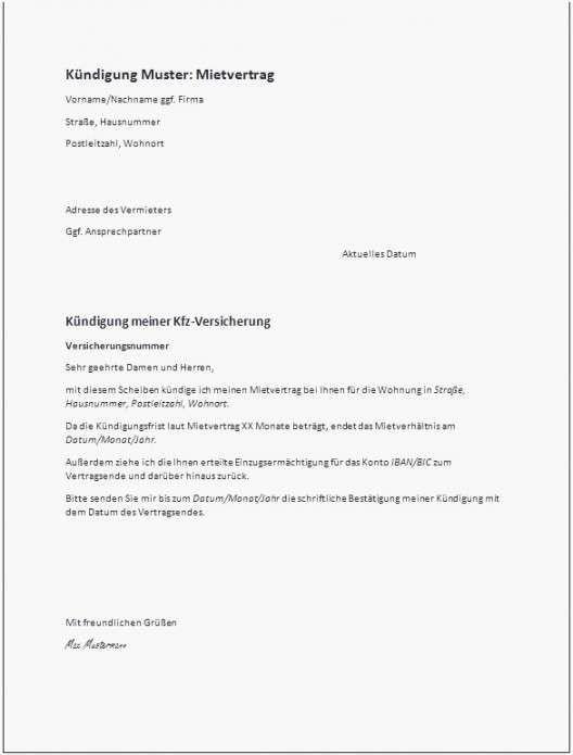 Vorlage Kundigung Stromanbieter Wegen Umzug Kundigung Schreiben Vorlagen Word Kundigung