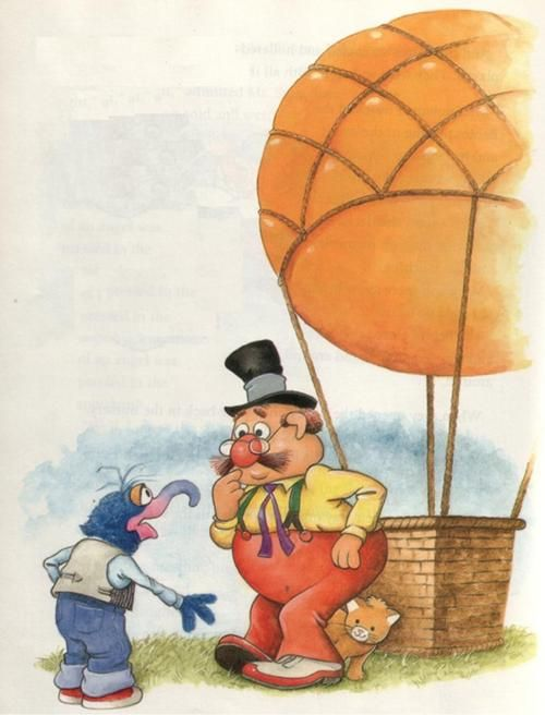 """Mr. Sammis is the owner of a hot-air balloon in the short story """"Up, Up, and Away"""". He hires Gonzo as an assistant. After Gonzo accidentally releases the balloon while trying to retrieve Mr. Sammis' kitten Ariel, Mr. Sammis runs underneath the balloon shouting instructions to Gonzo on its operations. After the safe return of both his balloon and kitten, Mr. Sammis takes Gonzo on a controlled flight over the fairgrounds."""