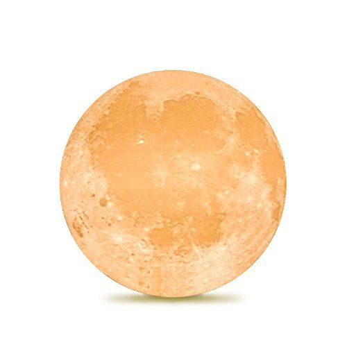Amazon Com Dimay Moon Lamp 5 9 Inch 3d Printing Moon Moon Light Unique Design Touch Control Stepless Dimmable Color Changing Led Moon Decor Led Night Light