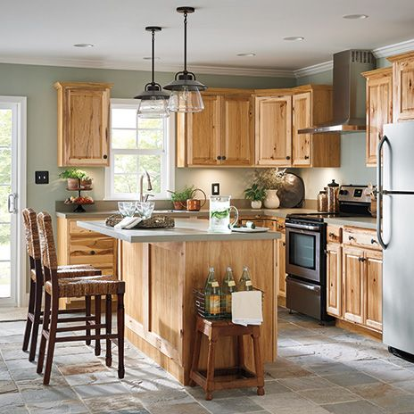 Diamond Now Denver 36 In W X 35 In H X 23 75 In D Natural Sink Base Stock Cabinet Lowes Com In 2020 Kitchen Renovation Kitchen Remodel Kitchen Cabinets