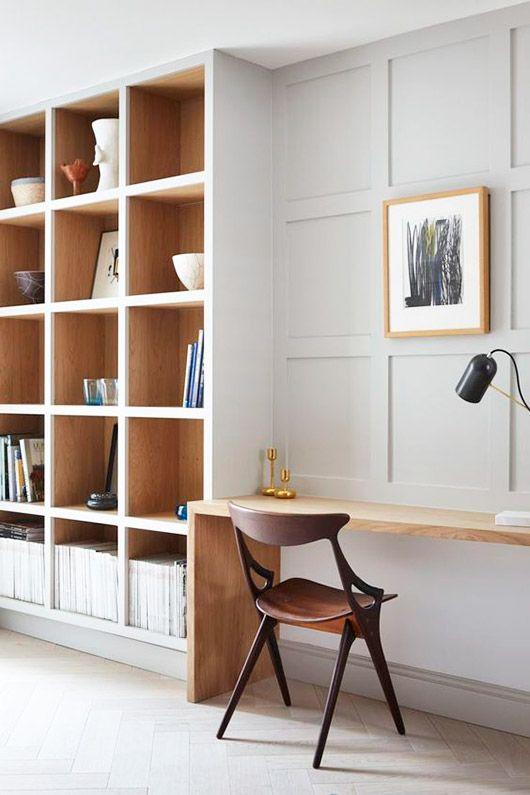 minimalist work space space. / sfgirlbybay