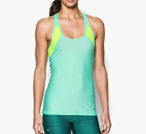 Damen Netzstoff-Tanktop HeatGear® Armour