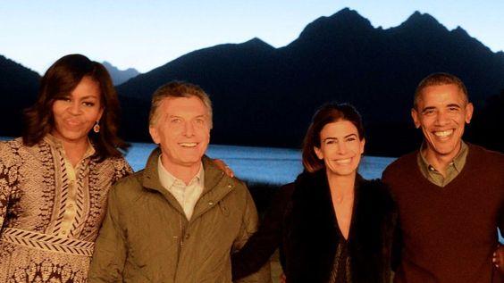 Mauricio Macri despidió a Barack Obama en Bariloche | Barack Obama en la Argentina - Infobae: