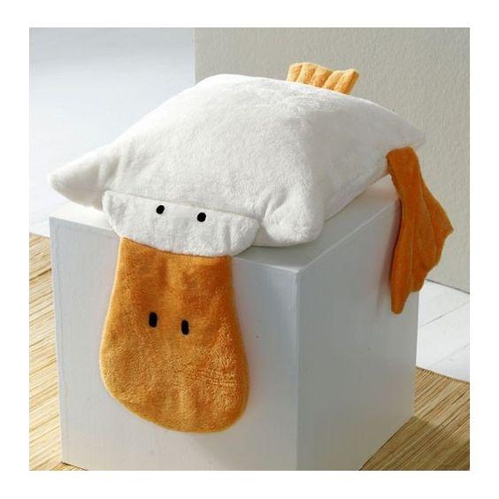 almofada de pato