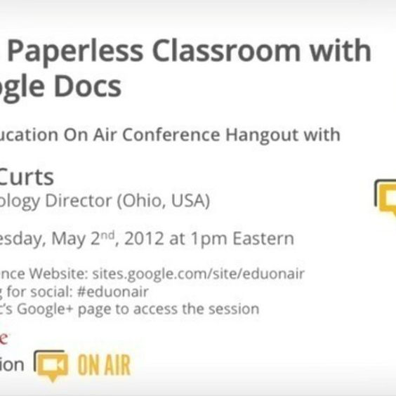 Paperless Classroom with Google Docs