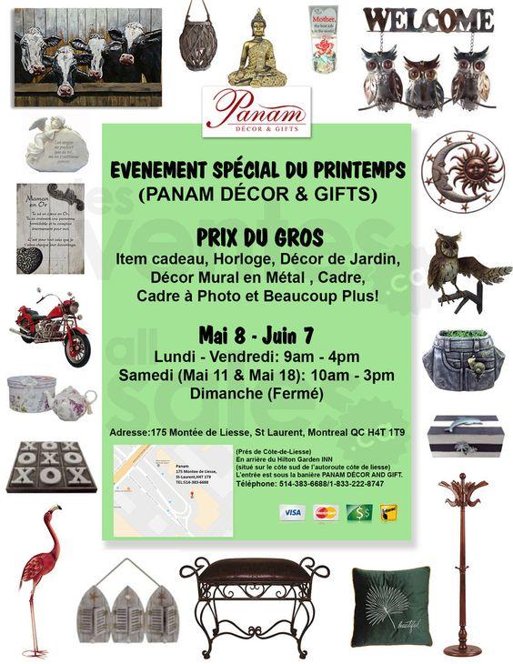 Evenement Printemps Panam Gift Decor Aubaines Pour La Maison En 2019 Decoration Murale Metal Gants De Travail Et Printemps