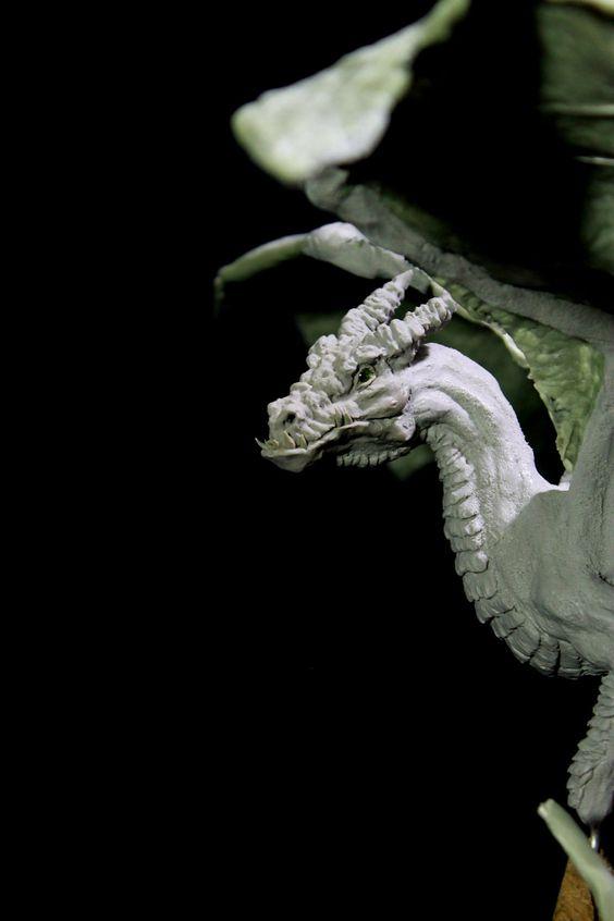 Underbite dragon WIP by RavendarkCreations.deviantart.com on @DeviantArt