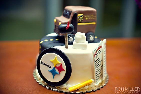 Steelers Groom's Cake!