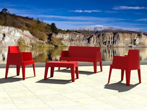 Salon De Jardin Design | terrasses | Pinterest | Color red