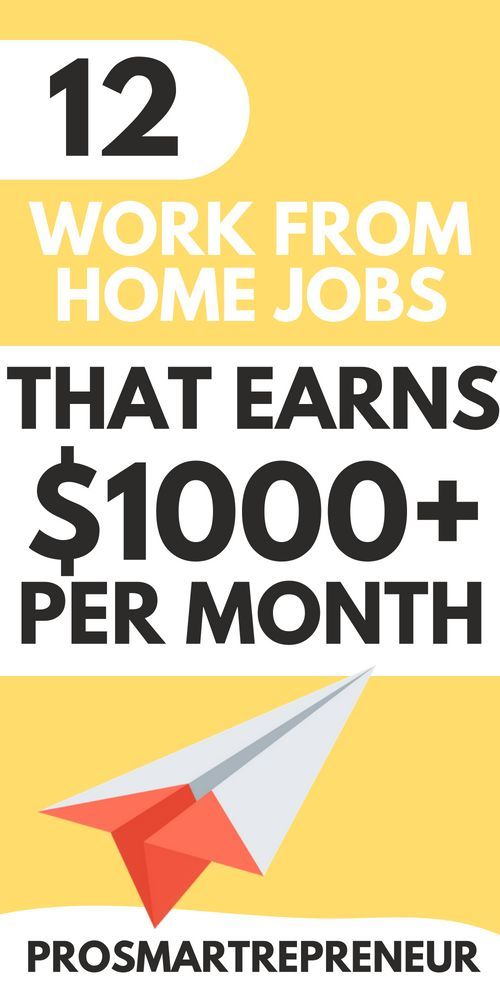 10 Best Work From Home Jobs For 2019 Now Hiring Working From