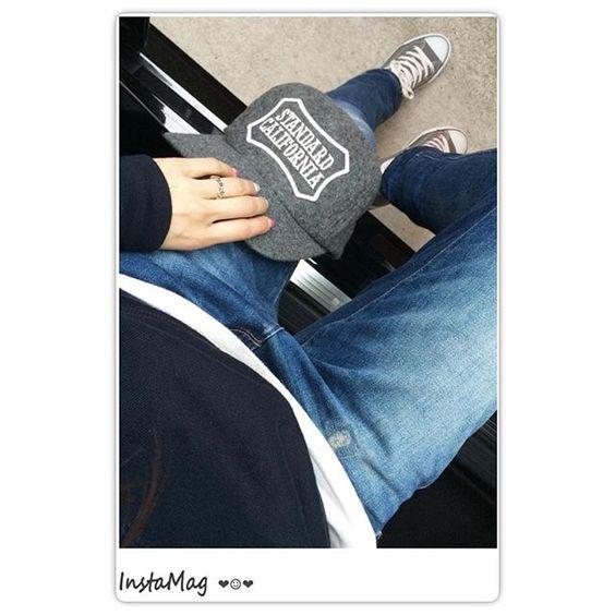 h_m.r.m_h2016.03.13 こんばんは☺︎ ご近所だけ〜の#なんてことないコーデ 。#uniqlo のパーカーに#zara  スニーカーはお気に入りのグレーの#converse ✨やっぱりネイビーとグレーが好き❤︎ ・ ・ #ootd #outfit #code #coordinate #fashion #style #ronherman #hoorsenbuhs #standardcalifornia #コンバース#ロンハーマン#スタカリ#hotmamatown #ponte_fashion #kaumo_fashion #カジュアルコーデ#スニーカー女子 #スニーカーコーデ#らくちんコーデ#ユニクロ#今日の服
