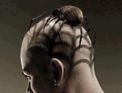 Another Great Hair Style! It would be Great for Haloween.