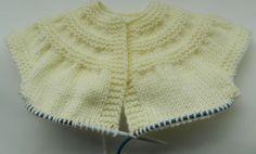 casaco de bebe trico com receita - Pesquisa Google