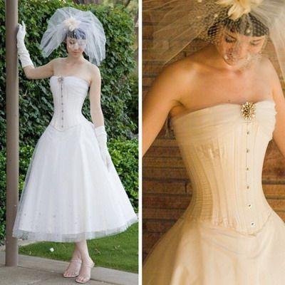 Corset Wedding Dresses Vintage : corset wedding dress vintage ...