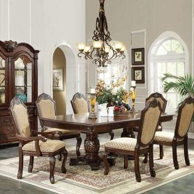 Astoria Grand Liam Extendable Dining Table Astoria Grand Dining Table Upholstered Dining Chairs Oval Table Dining
