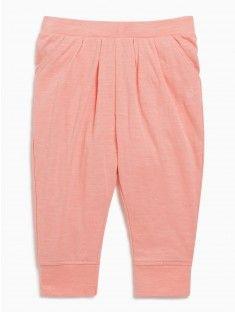 Pantalon élastiqué 100% coton