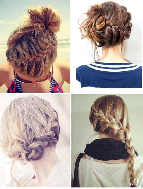 comment faire une tresse fran aise sur le c t how to side braid via. Black Bedroom Furniture Sets. Home Design Ideas