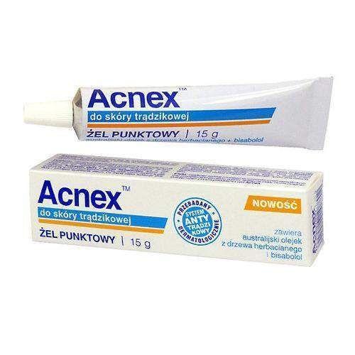 Acnex Spot Gel For Acne Skin 15g Uk Acne Skin Acne Gel