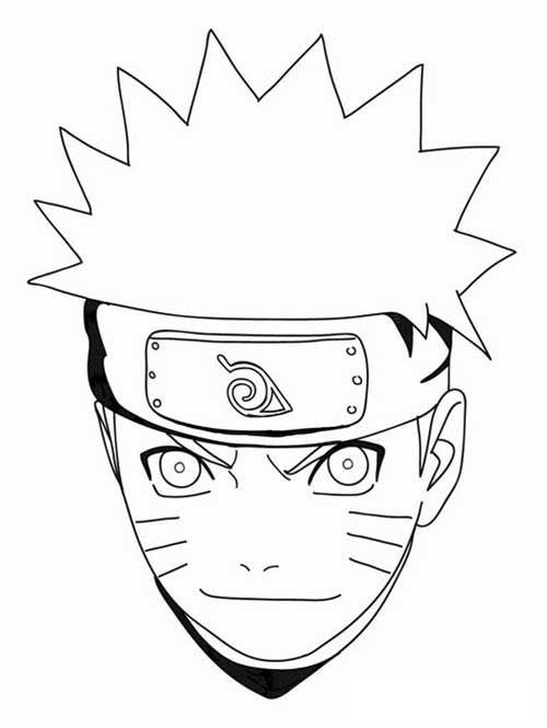 49 Desenhos Do Naruto Para Imprimir Pintar Com Imagens Naruto