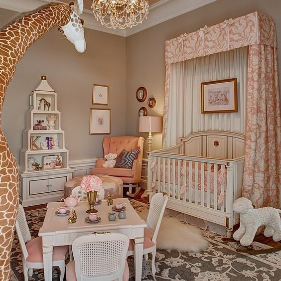 Loooooving this nursery designed and tagged by @kristinashleyinteriors  Keep those hashtags coming! #inspire_me_home_decor for a chance to be featured