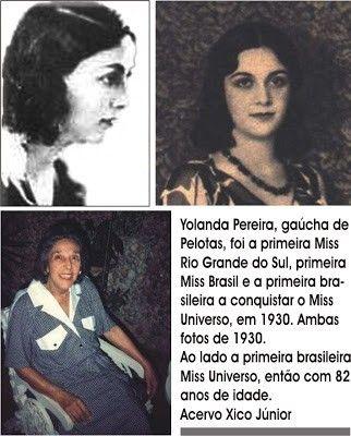 primeira miss brasil yolanda - Pesquisa Google