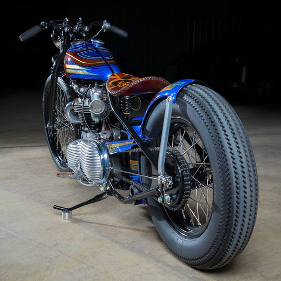 Triumph Bonneville 1960 Bobber by Angry Monkey Motorcycles