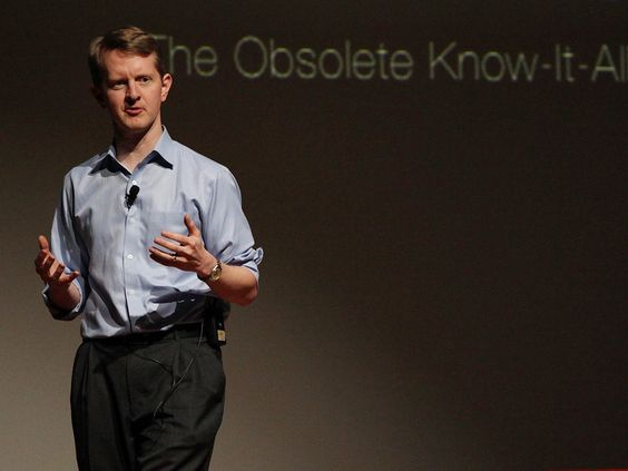 Ken Jennings: Watson, Jeopardy and me, the obsolete know-it-all | Talk Video | TED.com